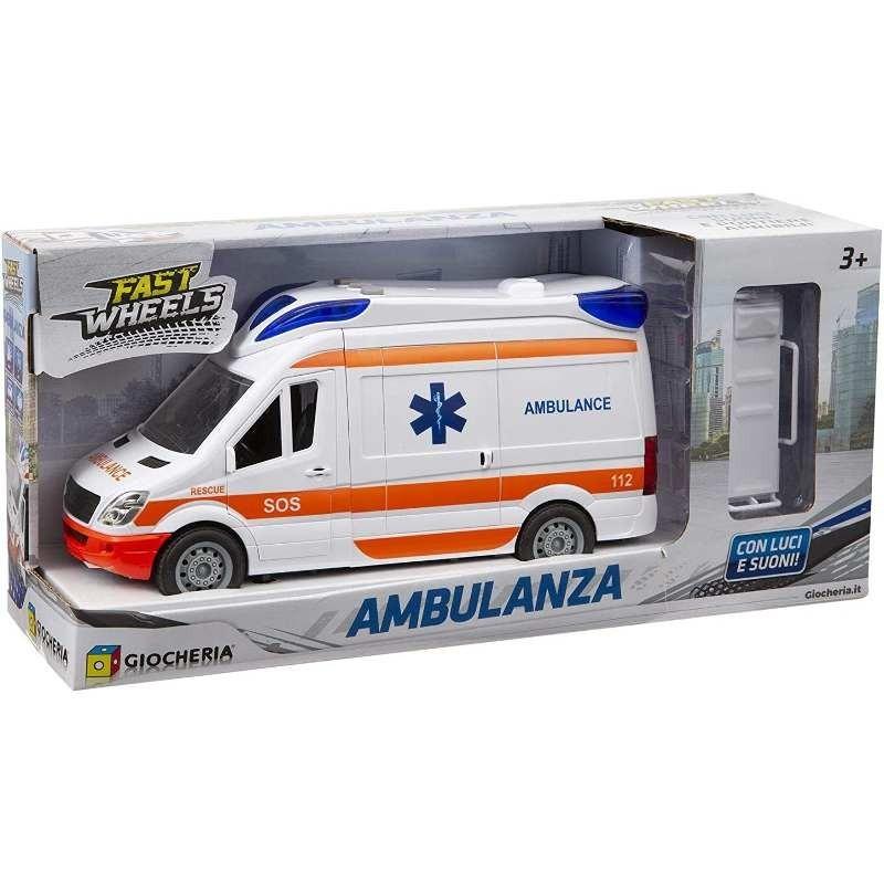 Fast Wheels - Ambulanza Luci e Suoni