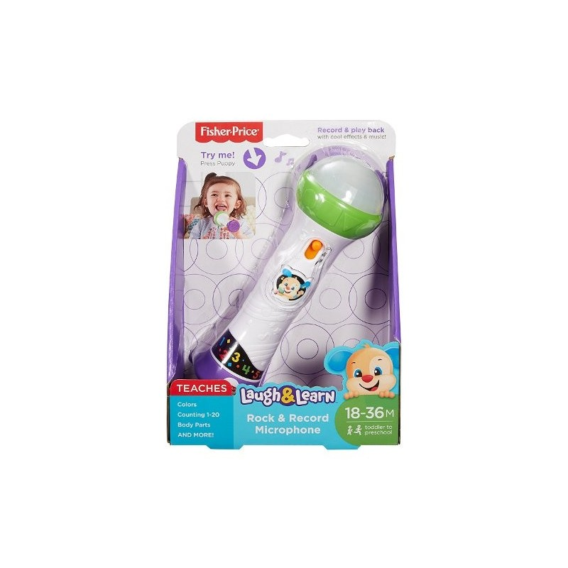 Microfono baby rock FISHER PRICE Fisher Price 15,90 €