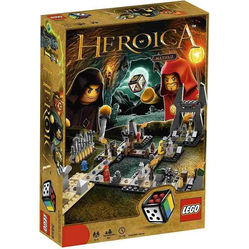 LEGO Games Heroica 3859 - Caverne di Nathuz