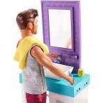 Barbie - Ken Set Rasatura e Bagno
