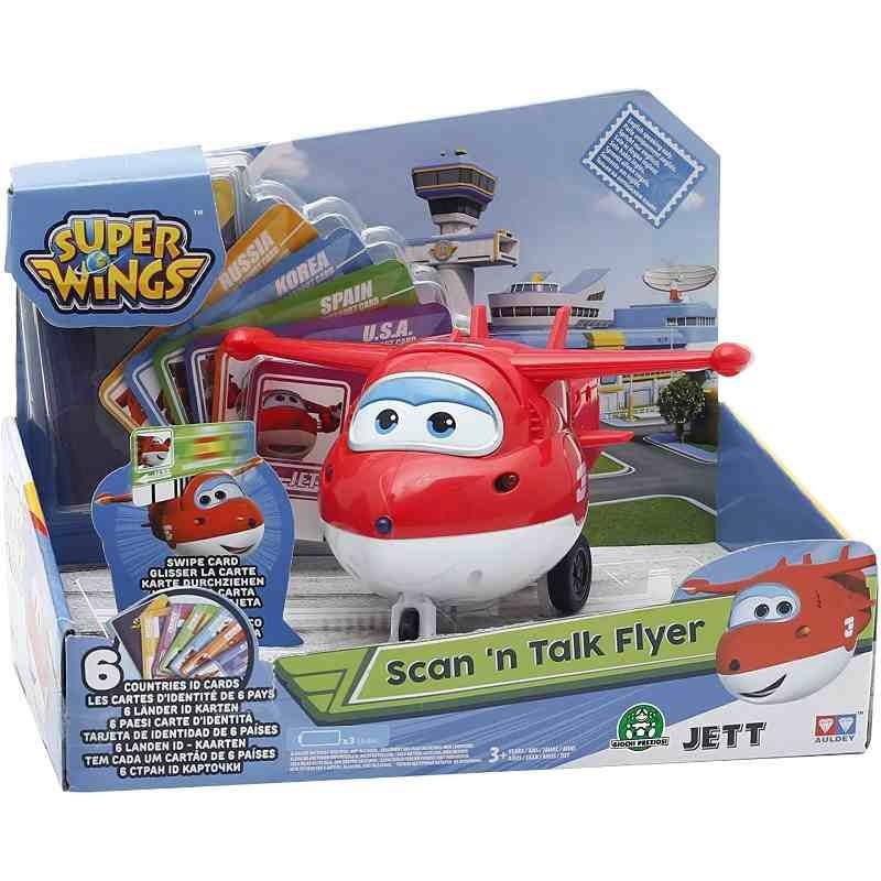 Super Wings Aereo Personaggio Interattivo Jett