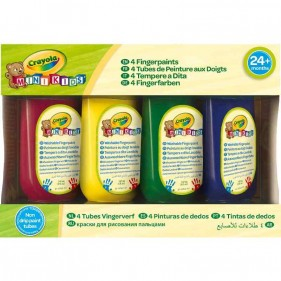 CRAYOLA - Mini Kids Set 4 Tempere a Dita