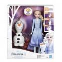 Frozen 2 Olaf e Elsa interattivi
