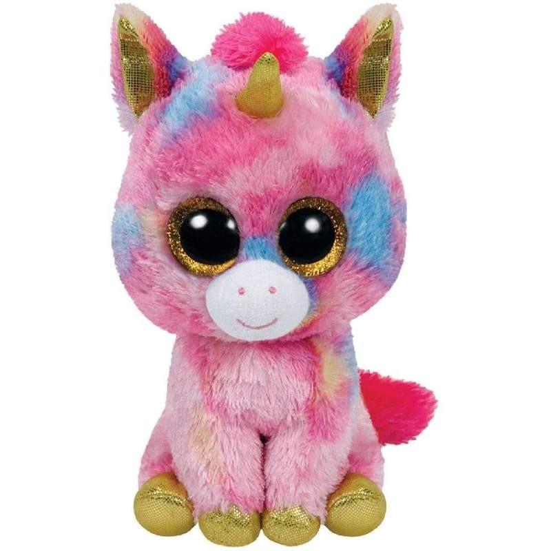 Peluche TY Beanie Boos Unicorno