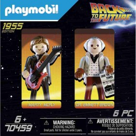 Playmobil Back to the Future 70459 - Marty & Doc Brown 1955