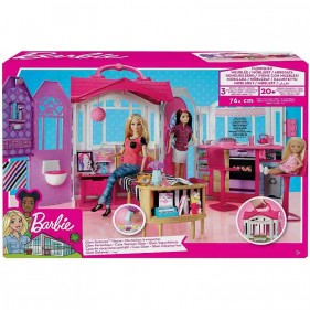 Barbie Casa Vacanze Glam Richiudibile