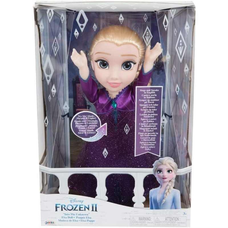 Frozen 2 Elsa Cantante con Luci e Suoni