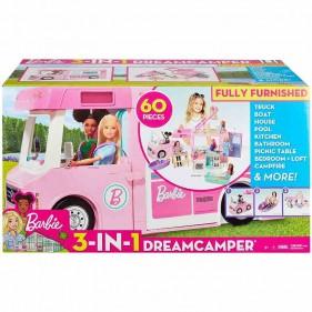 Barbie Camper dei Sogni 3 in 1