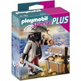 Playmobil 4767 - Pirata con Tesoro