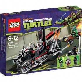 LEGO Ninja Turtles 79101 La Dragomoto di Shredder