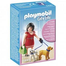 Playmobil 5490 Signora con cagnolini
