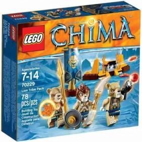 LEGO Chima 70229 Tribù dei Leoni