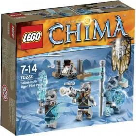 LEGO Chima 70232 Tribù Tigri dai Denti a Sciabola