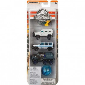 Jurassic World - Pack 5 Veicoli