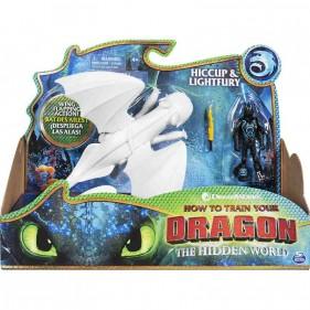 Dragons Hiccup e Furia Chiara