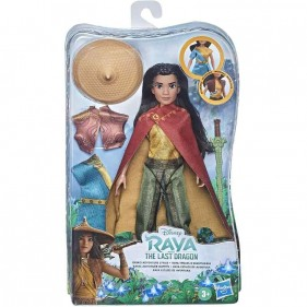 Disney Princess - Bambola Raya con accessori