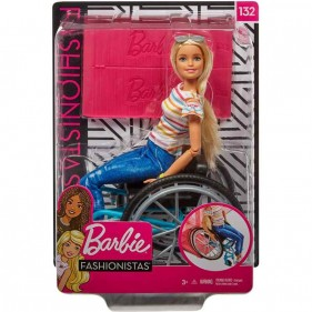 Barbie Fashionistas in Sedia a Rotelle