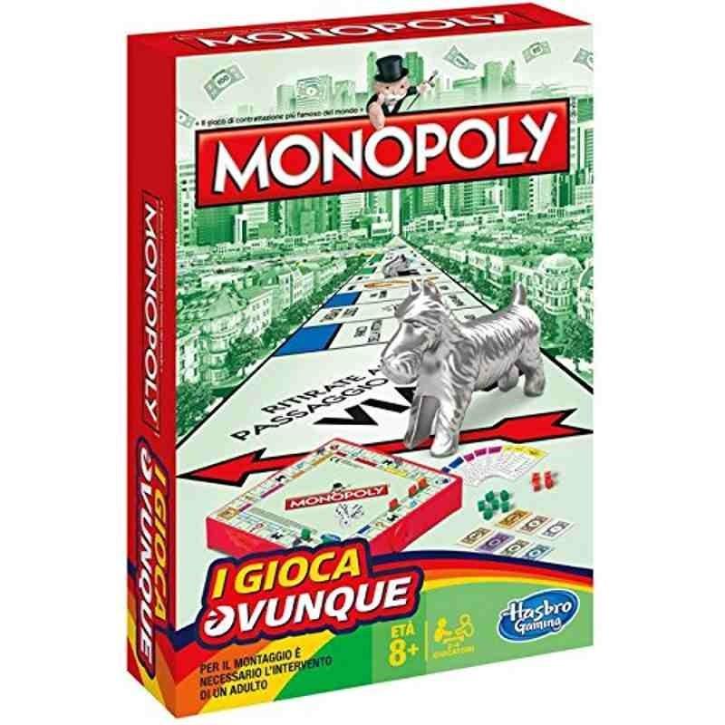 Monopoly travel HASBRO Giochi da tavolo e di società 8,90€