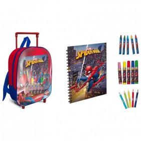 Spider-Man Mini Trolley con accessori