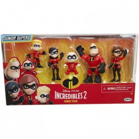 Disney Pixar Incredibili 2 Family Pack 5 personaggi