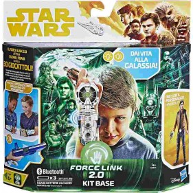 Star Wars - Force Link Kit Base con Han Solo