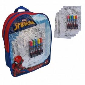Spiderman Zainetto con pennarelli