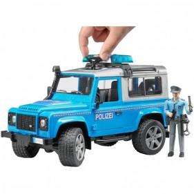 Land Rover Defender Polizia Luci e Suoni