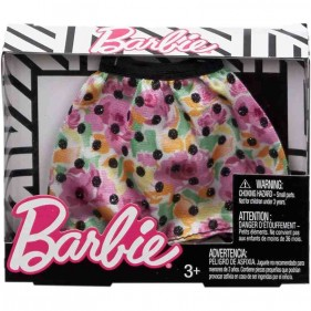 Barbie minigonna fiori e pois