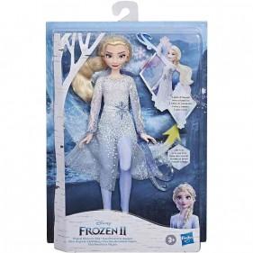Frozen 2 Elsa Potere di Ghiaccio con luci e suoni