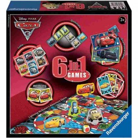Cars - Set di 6 giochi in 1