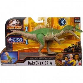 Jurassic World - Attacco Sonoro Dinosauro Baryonyx Grim