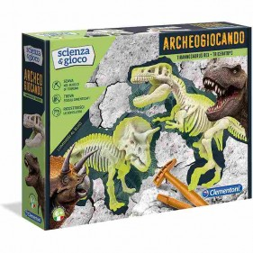 Scienza e Gioco - Archeogiocando T-Rex e Triceratopo