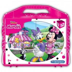 Puzzle Cubi Minnie 12 Pezzi