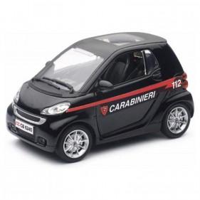 Auto Smart Fortwo Carabinieri 1:24
