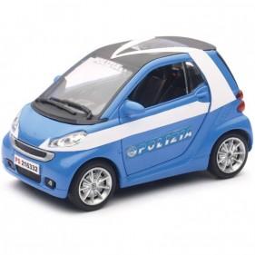 Auto Polizia Smart Fortwo 1:24