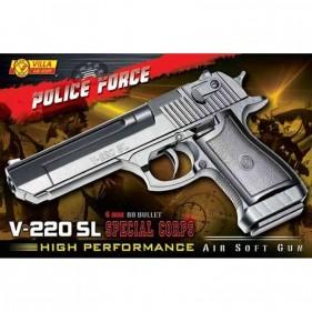 Pistola Polizia V-220 SL aria compressa