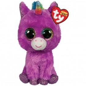 Peluche Ty Unicorno Rosette Beanie Boo's