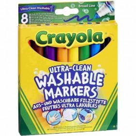 Crayola I Lavabilissimi 8 Pennarelli