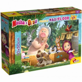Masha e Orso Puzzle Maxifloor 24 pezzi