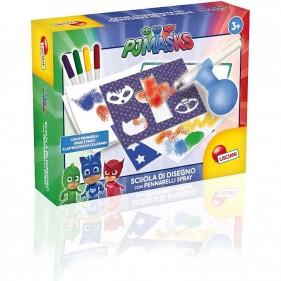 Pj Masks Scuola di Disegno Spray Color