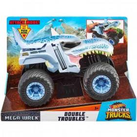 Hot Wheels - Monster Trucks Veicolo Mega Wrex