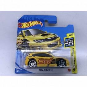 Hot Wheels Subaru WRX STI Yellow