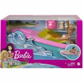 Barbie Playset con Motoscafo Galleggiante