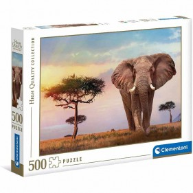 Puzzle 500 Pezzi Africa Sunset