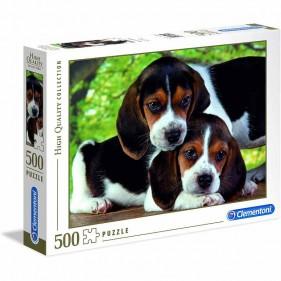 Puzzle 500 pezzi Cuccioli Beagle