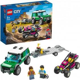 LEGO City 60288 Trasportatore di buggy da corsa