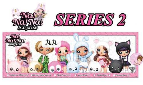 Na Na Na Surprise simboli serie 2