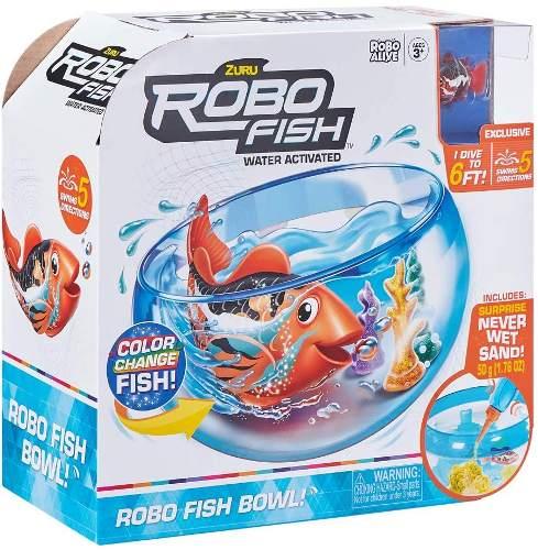 acquario robo fish
