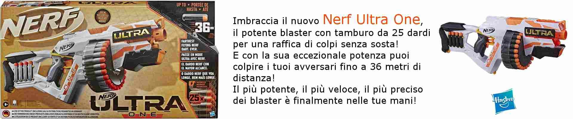 NERF ULTRA ONE MOTORIZZATO